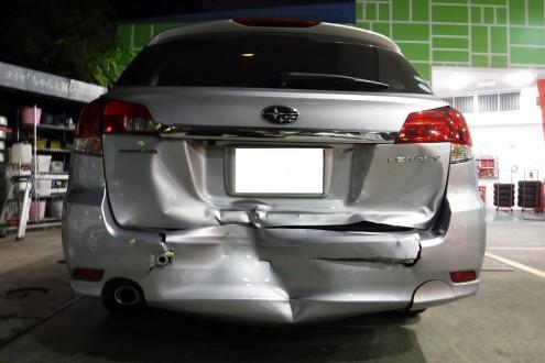 事故修理 伊丹市より入庫の施工前画像